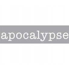 'APOCALYPSE' COMPOSITION 10 LETTERS NEON+TRANSFORMER 01425 - 10kV