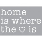 'HOME IS WHERE THE LOVE IS ' COMP. 17 LETTERS NEON+2 TRANSFOR. 01424-6kV