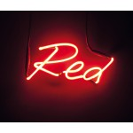 'SHADES-Red' NEON LAMP WITH TRANSFORMER 220V 2Kv