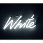 'SHADES-White' NEON LAMP WITH TRANSFORMER 220V 2Kv