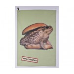'TOILETPAPER' DRY COTTON Cm.45x65 - TOAD