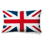 'FLAGS-UNITED KINGDOM' COTTON LINING CUSHION Cm.80x50