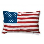 'FLAGS-USA' COTTON LINING CUSHION Cm.80x50