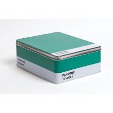 'PANTONE® 17-5641' METAL BOX  Cm. 30x22  h. 11 - EMERALD