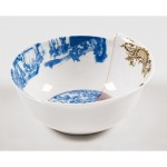 'HYBRID-DESPINA' BOWL IN  PORCELAIN ø Cm.15,2 h.6,7