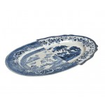 'HYBRID-DIOMIRA' TRAY IN PORCELAIN Cm. 37x24,8