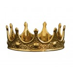 'LIMITED GOLD EDITION' PORCELAIN MY CROWN ø Cm.18,5 h. 7,5