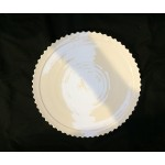 PORCELAIN DINNER PLATE 'MACHINE COLLECTION' ø  Cm.27,2 h.2,7-Design:1