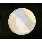 PORCELAIN DINNER PLATE 'MACHINE COLLECTION' ø  Cm.27,2 h.2,7-Design:1
