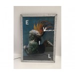 ALUMINIUM FRAME WITH LED BACKLIGHT 'FRAME IT!' Cm. 55x40