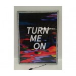 ALUMINIUM FRAME WITH LED BACKLIGHT 'FRAME IT!' Cm.60x80