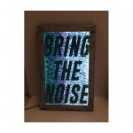 POSTER FOR PET WITH FRAME 'FRAME IT!'-'BRING THE NOISE' Cm.21,5x34,5