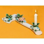 CERAMIC FLOWER CANDLE HOLDER 'FLOWER ATTITUDE' - THE AXE