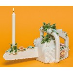 CERAMIC FLOWER CANDLE HOLDER 'FLOWER ATTITUDE' - THE CHAINSAW