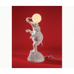 'ELEPHANT LAMP' RESIN LAMP WITH  BULB LAMP E27 230V 50Hz. 8W 3000K