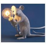 'MOUSE LAMP#2-MAC' RESIN LAMP Cm.5x15 h.12,5 - SITTING