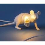 'MOUSE LAMP#3-LOP' RESIN LAMP Cm.6,2x21 h.8,1 - LIE DOWN