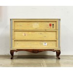 'EXPORT COMÒ' 3 DRAWERS WOODEN CHEST WITH BASE Cm.120x55 h.95