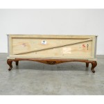 'EXPORT COMÒ' WOODEN TV CABINET 1DOOR DOWNSIDE OPENING BASECm160x45h65,5
