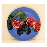 'TOILETPAPER' PORCELAIN DINNER PLATE ø Cm.27 - ROSE