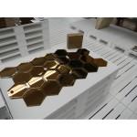 'MIRRORIZED' 18 MODULAR MIRRORS HEXAGONAL Cm. 20x20 - FUME