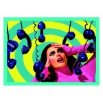 RUG POLYESTER/COTTON 'TOILETPAPER'  Cm.200x280 - PHONE