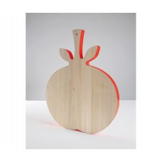 'VEGE_TABLE' BIRCH WOOD CUTTING BOARDS Cm. 44x34 h.2,8 - TOMATO